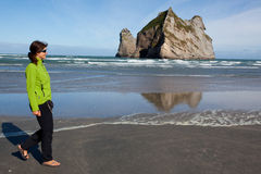 Прогулка Seashore Стоковое фото RF