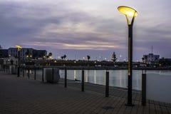 Прогулка Tarragonaна зоре стоковая фотография