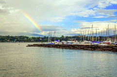 Прогулочные катера leman озера Стоковые Фото