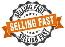 продавать быстрое уплотнение штемпель иллюстрация штока