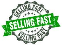 продавать быстрое уплотнение штемпель иллюстрация вектора