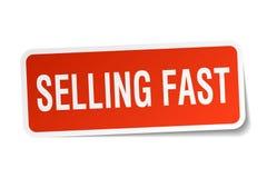 Продавать быстрый стикер иллюстрация штока