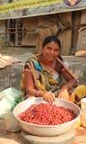 Продавать индийские ягоды шербета Стоковое Фото