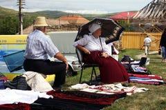 продавать людей одежды традиционный Стоковые Фото