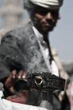 продавец Иемен sanaa ладана Стоковые Фотографии RF
