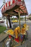 продавец маиса istanbul Стоковое фото RF