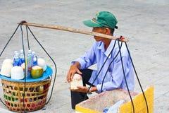 продавец питья Стоковая Фотография