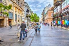 Продавцы улицы Стоковое Фото