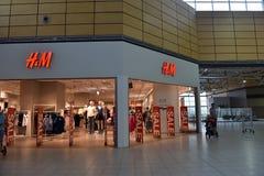 Продажа в магазине H&M Стоковые Фото