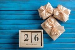 Продажа дня рождественских подарков Стоковое Изображение RF