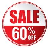 Продажа 60%  Стоковые Фото