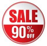 Продажа 90%  Стоковое фото RF