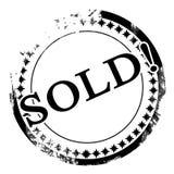 Продано иллюстрация вектора
