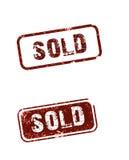 продано Стоковые Изображения