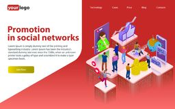 Продвижение в социальных сетях Chatbot, видео- передача, рассказы, продвижение SMM, онлайн аналитик Люди в социальной сети puz 3d Стоковая Фотография