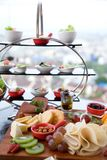 Продвижение завтрак-обеда на ресторане Стоковые Фотографии RF