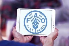 Продовольственная и сельскохозяйственная организация, логотип FAO Стоковая Фотография RF
