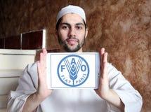 Продовольственная и сельскохозяйственная организация, логотип FAO Стоковая Фотография