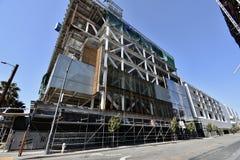 Продолжая стадион ратников золотого штата новый под конструкцией, 1 стоковые фото