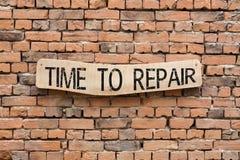 продолжительность ремонта к стоковые изображения rf
