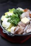 Продтовары бака кальмара и овоща горячего стоковые изображения
