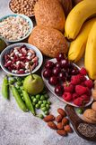 Продукты богатые в волокне еда диетпитания здоровая стоковые фотографии rf
