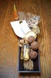 продукты ванны Стоковые Изображения RF