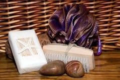 продукты ванны Стоковое Фото