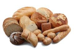 продукты группы хлеба различные Стоковое фото RF