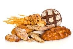 продукты группы хлеба различные Стоковая Фотография