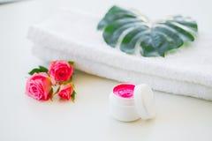 Продукты и косметики здоровья Травяное и минеральное skincare Ja Стоковые Изображения RF