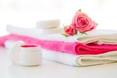 Продукты и косметики здоровья Травяное и минеральное skincare Ja Стоковое Фото