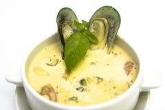 продукты моря густого супа стоковые фотографии rf