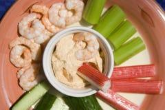 продукты моря диска Стоковая Фотография