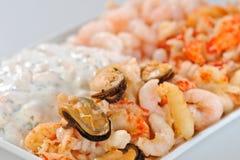 продукты моря закуски Стоковые Фотографии RF