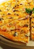 продукты моря пиццы Стоковое Фото