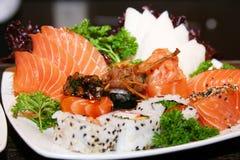 продукты моря плиты Стоковое Фото