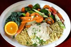 продукты моря ресторана Стоковое Изображение