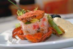 продукты моря риса Стоковые Изображения