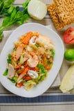 продукты моря салата пряные Стоковое Изображение