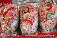 продукты моря сандвича s Стоковая Фотография