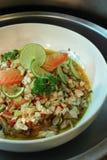 продукты моря соуса масла стоковое изображение rf