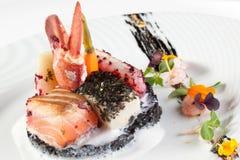 продукты моря тарелки Стоковые Фото