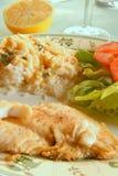продукты моря тарелки Стоковые Изображения RF