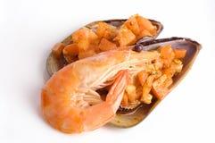 продукты моря Стоковые Фото