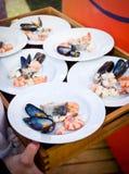 продукты моря Стоковые Изображения