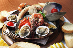 продукты моря Стоковое Фото