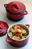 продукты моря casseroles Стоковая Фотография RF