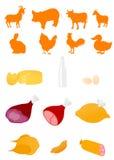продукты пищевой промышленности Стоковые Изображения RF