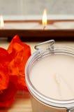 продукты тела ослабляя спу места Стоковое Изображение